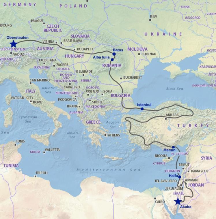 AOR Route Bild aktuell